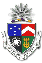 The official coat of arms of Delta Tau Delta