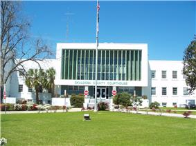 The Okaloosa County courthouse in March 2008