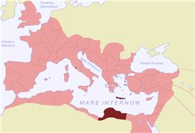 Location of Creta et Cyrenaica