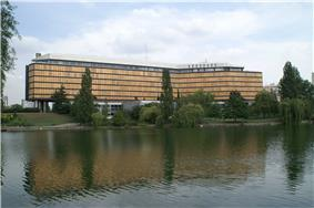 Prefecture building of the Val-de-Marne department, in Créteil
