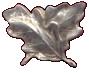 Image of silver oak leaves used on ribbon bars