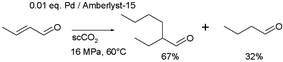 Crotonaldehyde Aldol process
