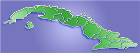 Santiago de las Vegas is located in Cuba