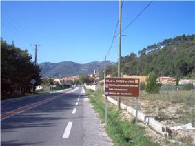 Entrance of Cuges-les-Pins