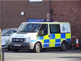 Cumbria Constabulary Ford Transit