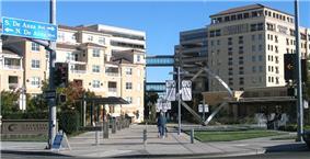 Cupertino City Center buildings.