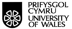 Logo of the University of Wales