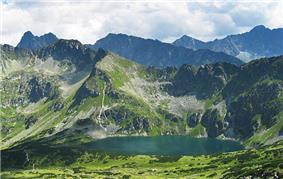 Czarny Staw (Black Lake) in the High Tatra Mountains