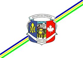 Flag of Dollard-des-Ormeaux