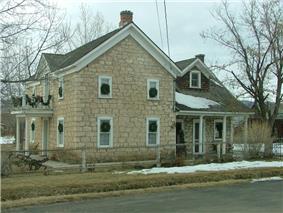 Pioneer-era house in Fairview