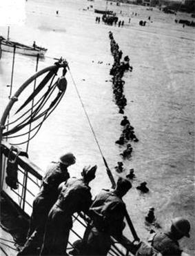 Allied evacuation of Dunkirk