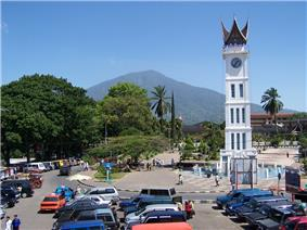 Clock tower and main square