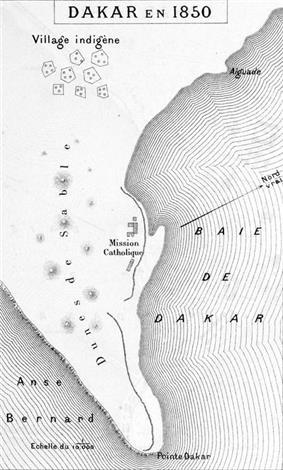 Dakar in 1850