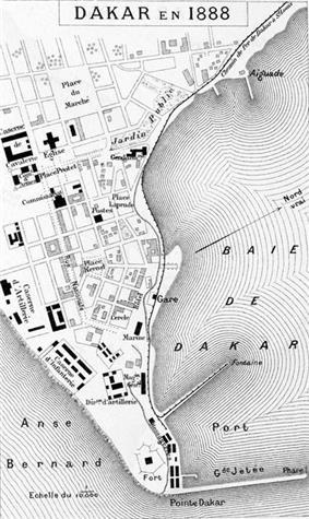 Dakar in 1888