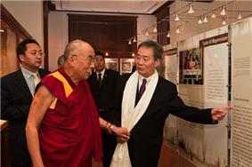Harry Wu and His Holiness the Dalai Lama