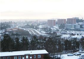 View over Danderyd, 2006