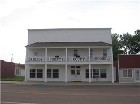 Daniels County Courthouse