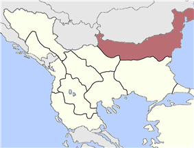 Location of Danube Vilayet