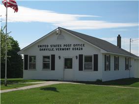 Danville's post office