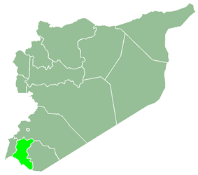 Daraa Governorate within Syria