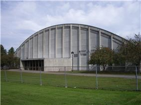 Exterior of Thompson Arena