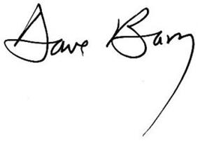 Dave Barry signature
