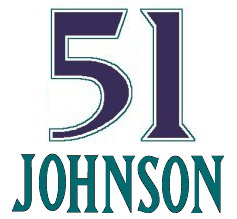 Retired number logo for Randy Johnson