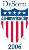 DeSoto's All-America City logo