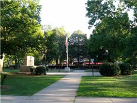 De Witt Park Historic District