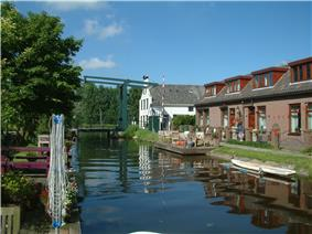Canal through Zweth