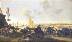 The siege and capture of Hulst in 1645 by Hendrick de Meijer