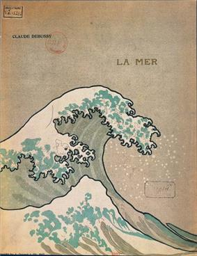 Cover of book of sheet music depicting a stylized wave