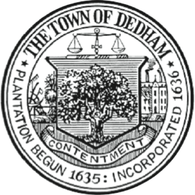 Official seal of Town of Dedham