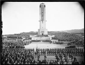 Dedication of National War Memorial Carillon, Wellington.jpg