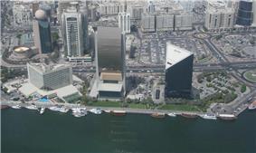 Aerial view of Rigga Al Buteen