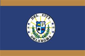 Flag of Del City, Oklahoma