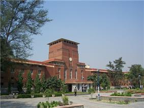 Main building of the University of Delhi