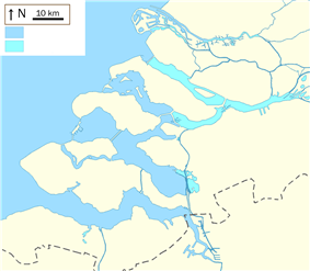 Delta Works is located in Delta Plan