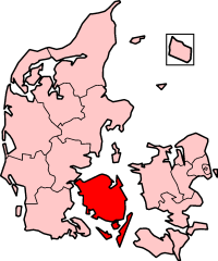 Funen County in Denmark