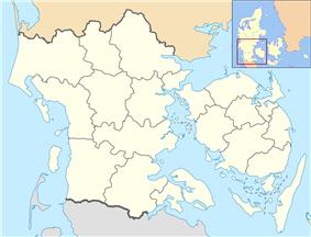 Middelfart is located in Region of Southern Denmark