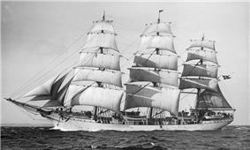 the frigate Danmark