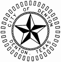 A 3D black and white star. The words