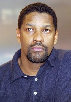 Photo of Denzel Washington in Berlin, 2000.