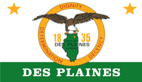 Flag of Des Plaines