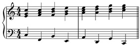 Descending fifths sequence