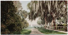 A view of early Rockledge, FL and the Indian River