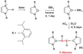 Diborene synthesis Wang 2007