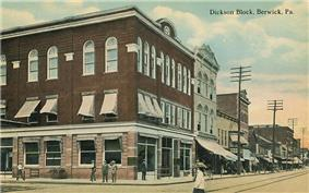 Dickson Block in 1912