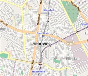 Street map of Diep River