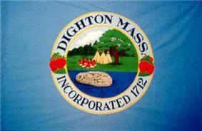 Flag of Dighton, Massachusetts